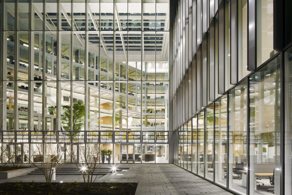 Sustainable government office in Utrecht